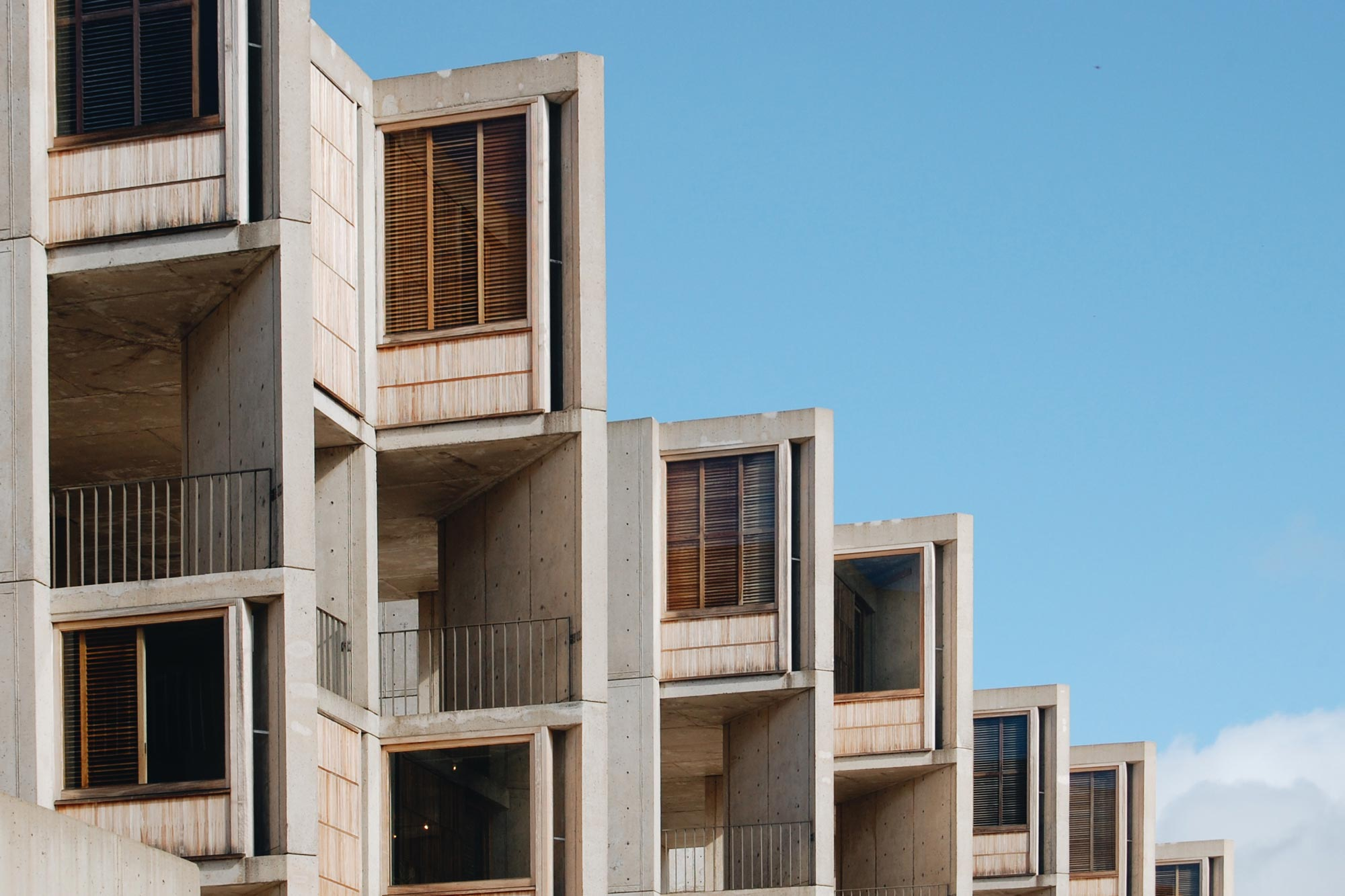 Louis Kahn Salk Institute La Jolla San Diego Acanthus