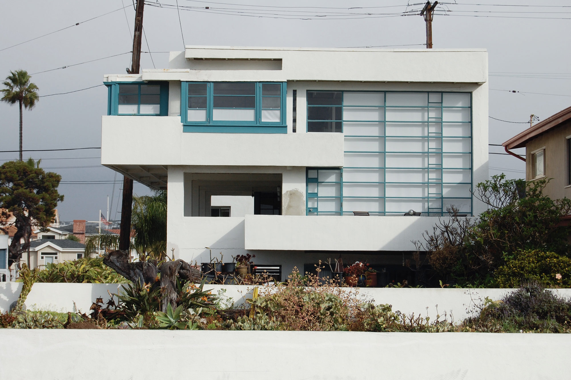 Lovell Beach House Rudolph Schindler Newport Beach Los Angeles