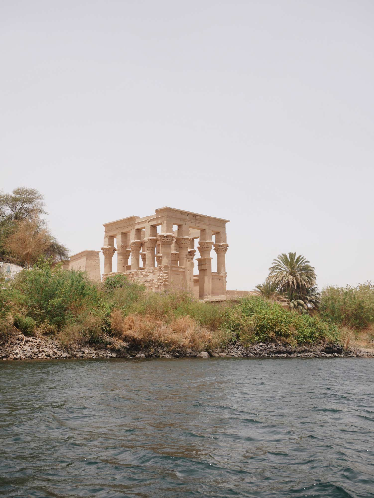 Acanthus Philae Temple in Aswan Egypt