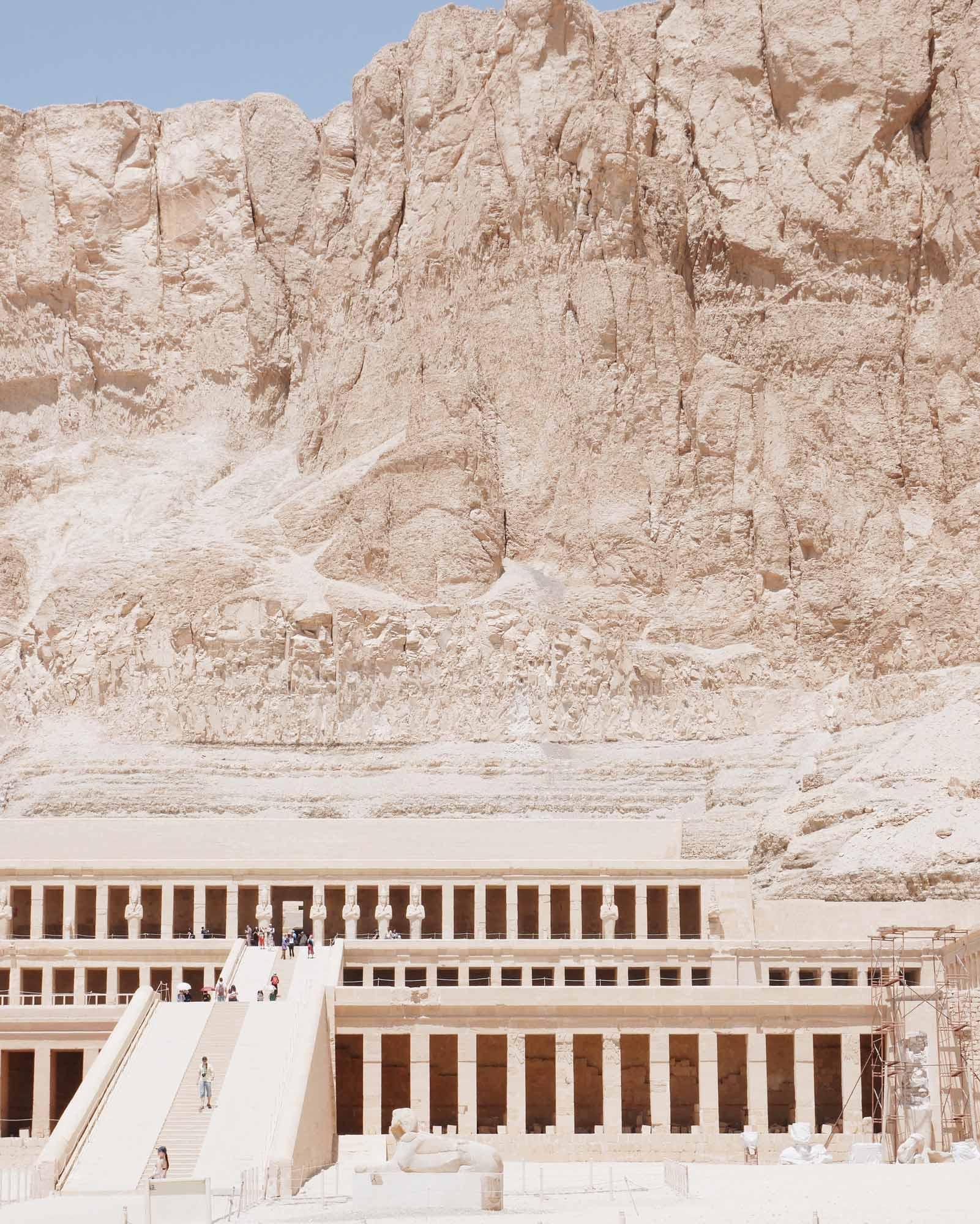 Acanthus Hatshepsut Temple Luxor Egypt