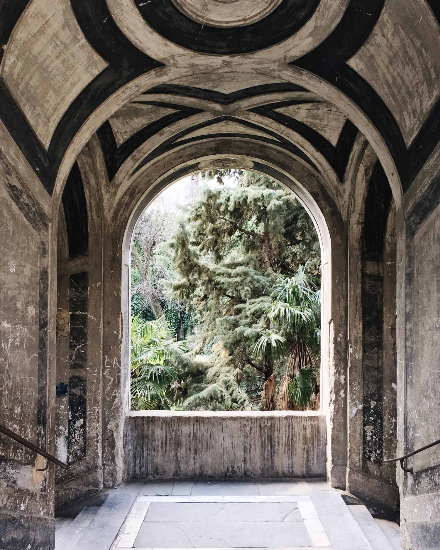 acanthus palazzo sanfelice naples Ferdinando San Felice napoli