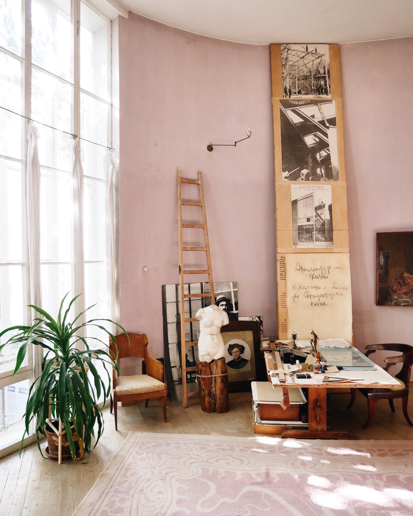 acanthus Melnikov House Moscow Vitra Design Museum